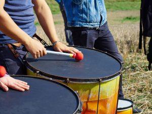 Samba Drummers in Warrington